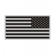 American Gray Black Subdued Flag Special OPS US USA Decal Sticker (LH) V3