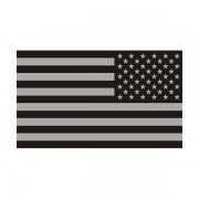 American Subdued Flag (LH) Sticker Decal