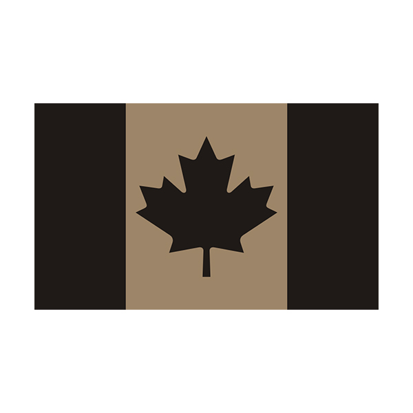 Flag decal canadian vinyl sticker click to zoom