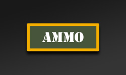 Olive Yellow Ammo Can Stickers