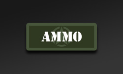Military Olive Ammo Can Stickers
