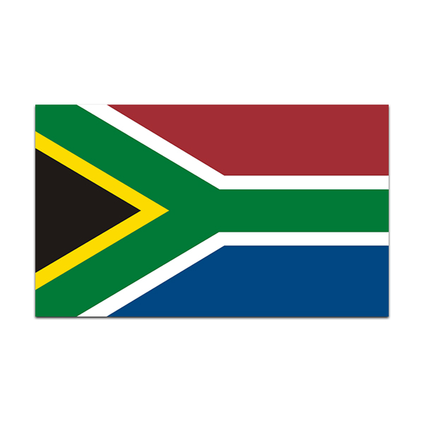 South africa flag decal african car truck bumper window vinyl sticker